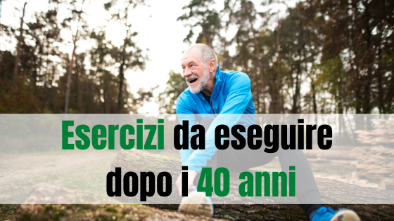 Corsa dopo i 40 anni, quali esercizi potresti fare?