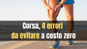 Corsa, errori da evitare